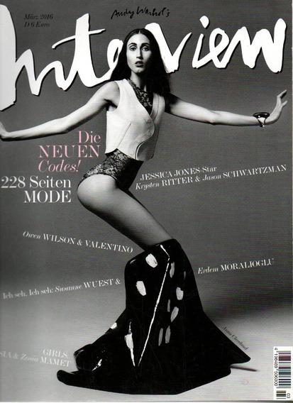 Interview Revista De Cultura & Música Jessica Jones Star