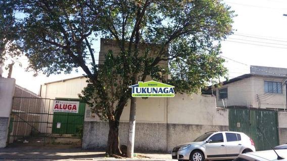 Galpão Para Alugar, 854 M² Por R$ 15.000,00/mês - Vila Independência - São Paulo/sp - Ga0019