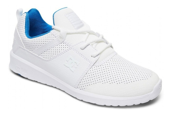 Zapatillas Dc Shoes Mod Heathrow Blanco Azul Prestige!