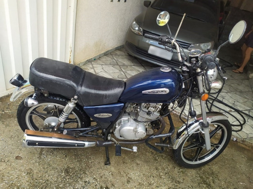 Suzuki Intruder 125cc Ano 2011