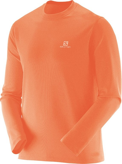 Camiseta Masculina Salomon - Sonic Ls Uv