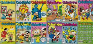 1991/2007 - 10 Hq Quadrinhos Cebolinha Globo Almanaque