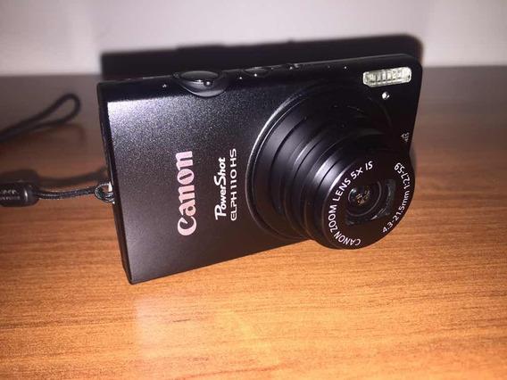 Cámara Digital Canon Powershot Elph 110 Hs 16 Mp 5x Full Hd