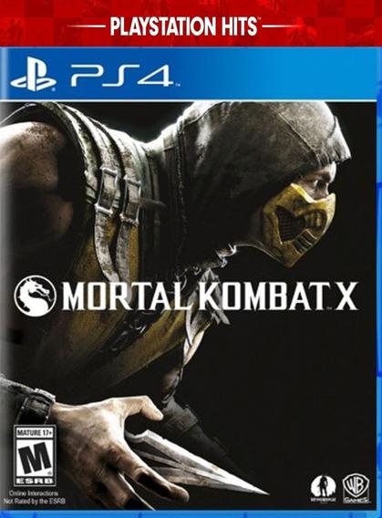 Mortal Kombat X De Ps4 Mídia Digital Promoção Mídia Primaria