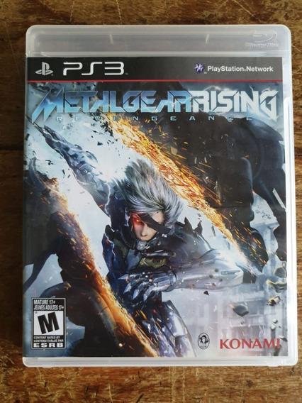 Jogo Ps3 Metal Gear Rising Revengeance Usado