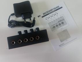 Amplificador Fone De Ouvido Shansonic Ha400 Igual Behringer