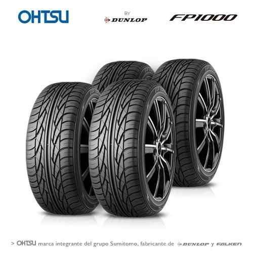 Kit 4 Neumáticos Ohtsu 215 60 Rodado 16 Fp1000 95h By Dunlop