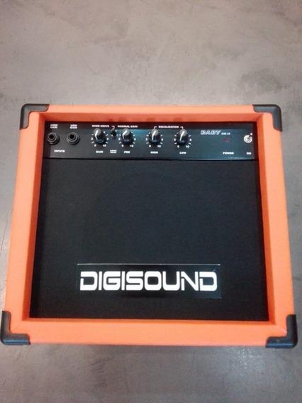 Amplificador De Guitarra Digisound 15w Orange Naranja Distor
