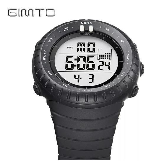 Relógio Masculino Esportivo Digital Ots Preto Frete Grátis