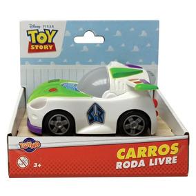 Brinquedo Carrinho Rodas Livres Toy Story Buzz Toyng 34220