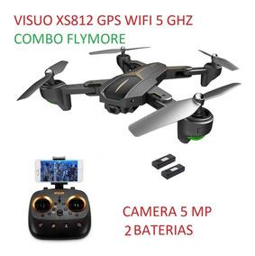 Drone Visuo Xs812 Gps 5g Wifi Fpv 1080p 15 Min 2 Baterias
