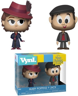 Funko Pop Vynl- Mary Poppins - Marry & Jack The Lamplighter