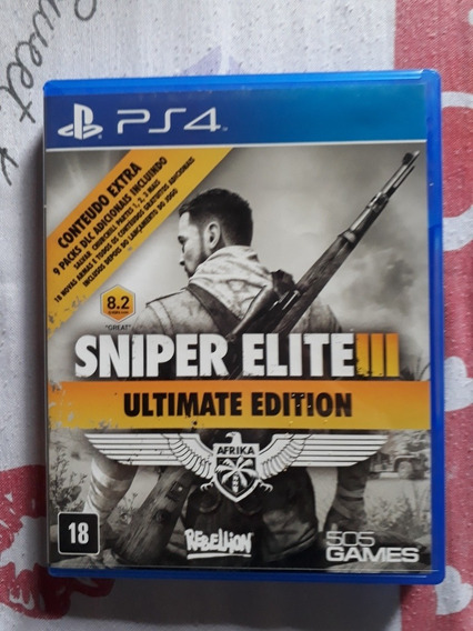 Sniper Elite 3 Ultimate Edition Playstation 4 Português