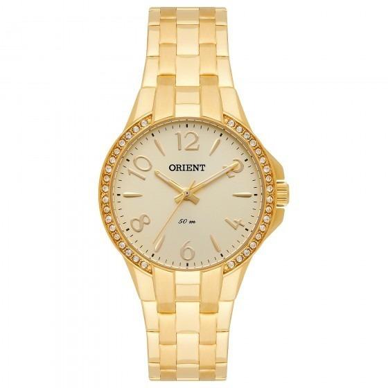 Relógio Orient Fgss0082 C2kx Feminino Dourado - Refinado
