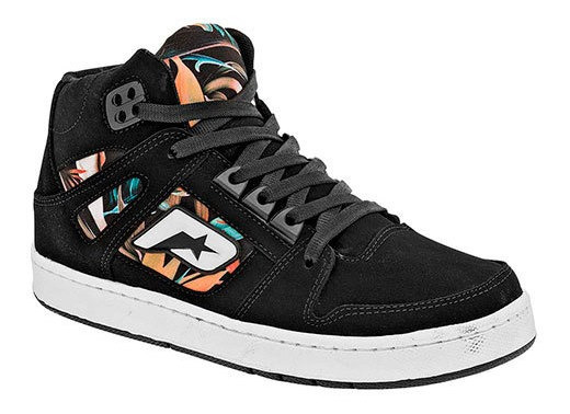 Sneaker Deportivo Niño Peyton Negro Sint Bota J39809 Udt