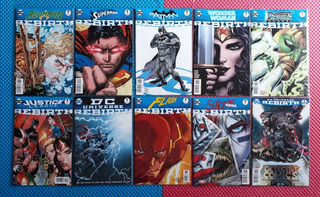 10 Dc Comics Rebirth #1 Green Lantern Aquaman Justice League