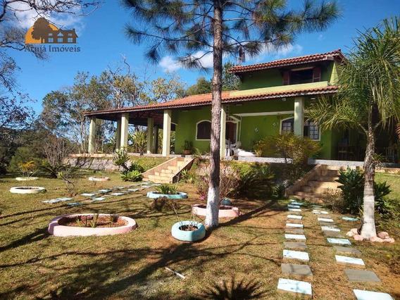 Chácara Com 5 Dormitórios À Venda, 126000 M² Por R$ 1.200.000,00 - São Domingos - Arujá/sp - Ch0002
