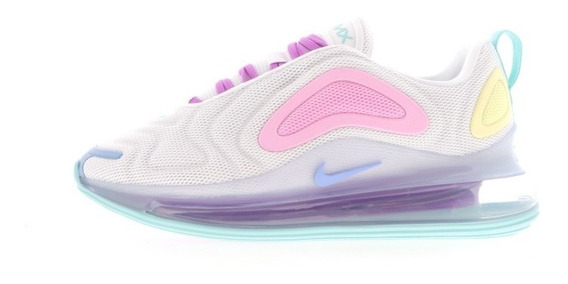 Nike Air Max 720 White Light Aqua Mujer Originales Cod 0118