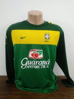 Camisa Brasil De Treino Longa