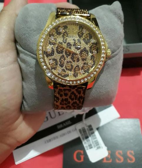 Relógio Guess Original Com Certificado De Autenticidade ,