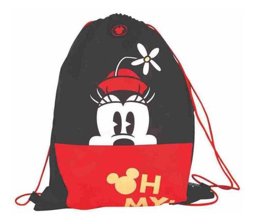 Imagem 1 de 2 de Mochila Saco Esportivo Disney Minnie Original - Dermiwil
