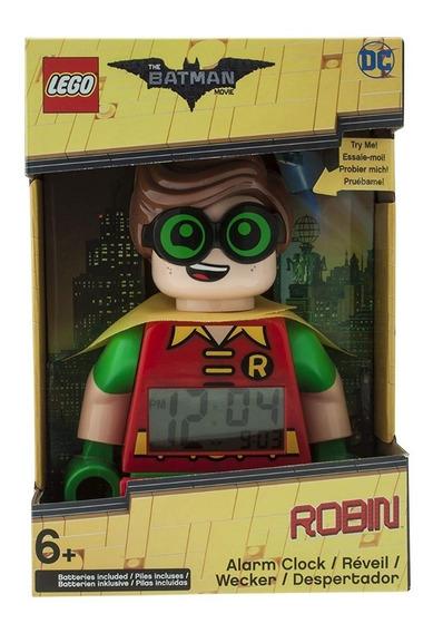 Reloj Despertador Batman Movie, Lego - Robin