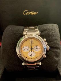 Cartier Pasha 38mm Chronograph Todo Aço , Promoção !!!