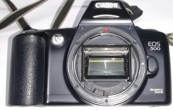 Câmera Canon Eos 500 Analógica