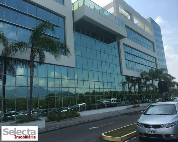 Conjunto Comercial Com 72 M², Em Edifício Comercial Moderno E Lindíssimo, Situado Dentro Do Shopping Via Parque !!! - Sa00042 - 32179684