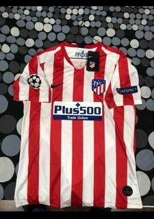 Camisa Atlético De Madrid 19/20.primeira Linha.