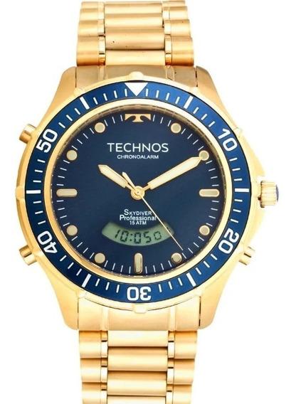 Relógio Pulso Technos Performance Skydive Masc -t0205iz4a