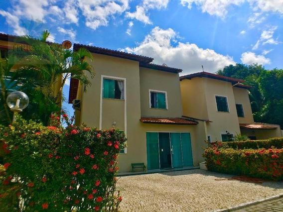 Casa Duplex Em Condomínio Com 3 Quartos, 3 Vagas E Lazer Completo. - Ca0578