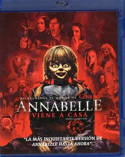 Annabelle 3 Tres Viene A Casa Pelicula Blu-ray + Dvd