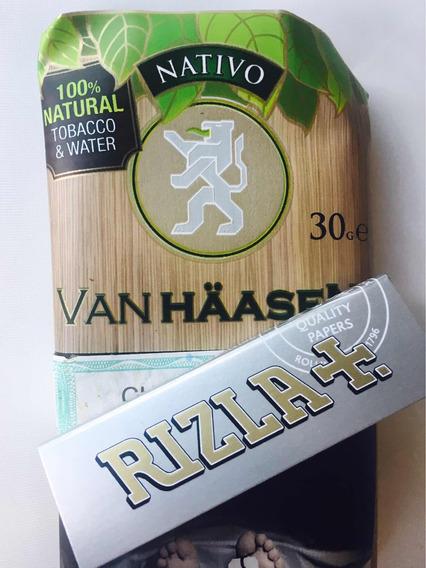 Tabaco Para Armar Cigarrillos Van Haasen + Papel De Regalo!
