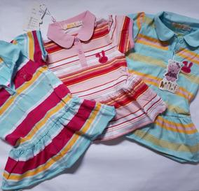 Vestidos Menina Bebe Com Gola Polo