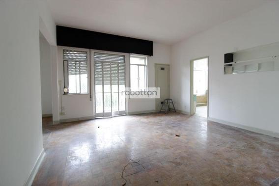 Apartamento Com 3 Dormitórios Para Alugar, 242 M² Por R$ 7.000/mês - Bela Vista - São Paulo/sp - Ap0661
