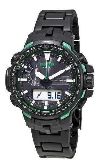 Reloj Protrek Hombre Negro Prw-6100fc-1dr