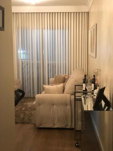 Apartamento Com 3 Dormitórios À Venda, 72 M² - Vila Carrão - São Paulo/sp - Ap3226