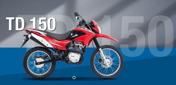 Mondial Td 150 Enduro Con Rayos F/ Disco 680206