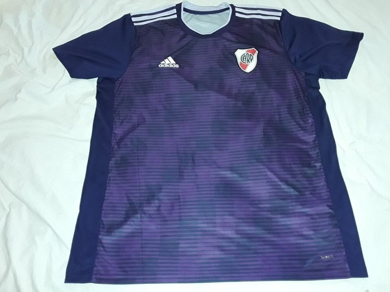 Camiseta Alternativa Violeta Ca River Plate 2018 T Xxl