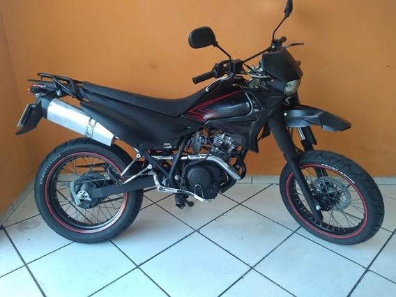 Yamaha Xtz 125 Xk 2008 Preta