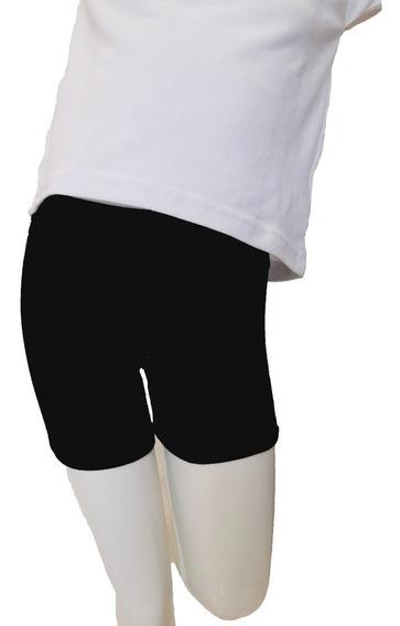 Mini Short Calza Corta Colegial Talle 4 Al 16 Nena Niña
