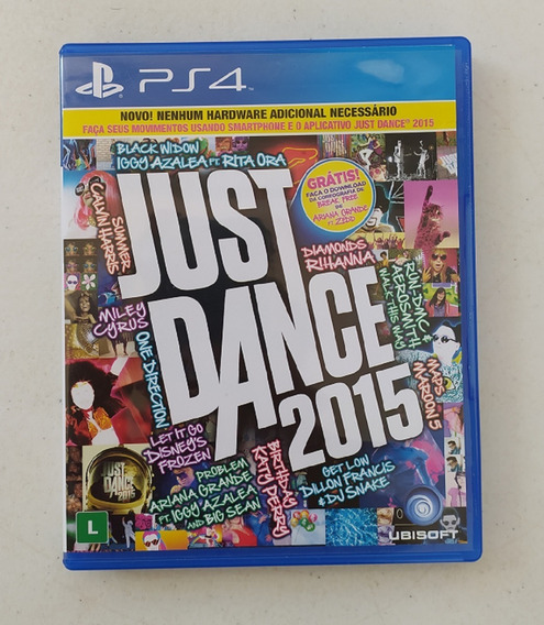 Jogo Just Dance 2015 - Ps4 - Mídia Física - Playstation 4
