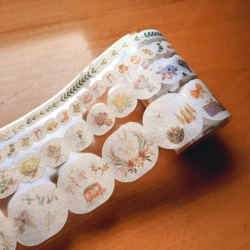Cinta Washi Tape Decorativa Importada Scrapbook Kawaii X 4 U