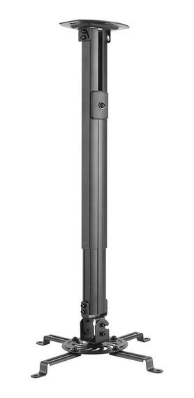Suporte De Teto Para Projetor Com Regulagem Até 90cm Pro1100