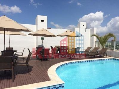 Vende-se Apartamento Mobiliado Com 02 Quartos No West Flat Mossoró - Ap0244
