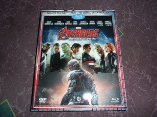 Avengers La Era De Ultron Slipcover Bluray + Dvd + Copia Dig