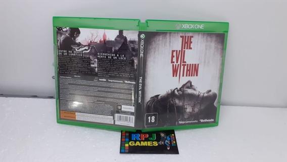 The Evil Within Midia Fisica Xbox One - Loja Centro Rj - &&