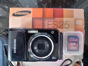 Camera Digital Samsung Es25 + Cartão 2gb