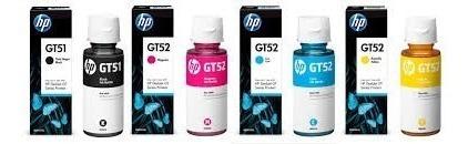 Tinta Hp Gt5822 Gt-5822 Gt52 Gt-52 Kit 04 Cores Original
